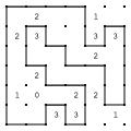 Gjerdet - eksempelløsning 6x6